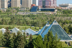 Muttart conservatory, Edmonton Royalty Free Stock Photography