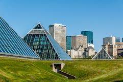 Muttart conservatory, Edmonton Royalty Free Stock Photography