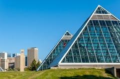 Muttart conservatory, Edmonton Royalty Free Stock Images