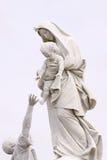Mutter Mary Stockbild