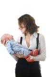 Mutter mit Baby lizenzfreie stockfotos