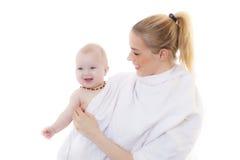 Mutter mit Baby Stockfoto