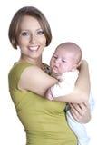 Mutter mit dem Sohn Lizenzfreie Stockfotografie