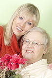 Mutter mit der Tochter Lizenzfreie Stockfotografie