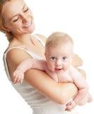 Mutter mit Schätzchen Lizenzfreie Stockbilder