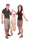 Mutter mit Vater haben Sohn angehoben Lizenzfreie Stockfotografie
