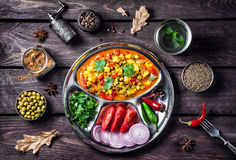 Mutter paneer in India Royalty Free Stock Images