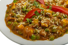 Mutter Paneer Stock Photography