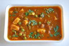 Mutter Paneer Royalty Free Stock Photo