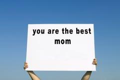 Mutter ` s Tageskonzept Lizenzfreie Stockbilder