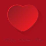 Mutter-Tageskarte mit Herzen Lizenzfreie Stockbilder