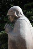 Mutter Teresa Monument in Skopje lizenzfreies stockfoto