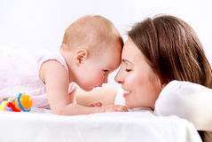 Mutter und Baby Stockfotos