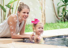 Mutter und Baby Stockbilder