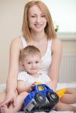 Mutter und Baby stockfotografie