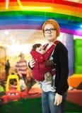 Mutter- und Babyporträt lizenzfreie stockfotos