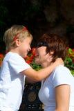Mutter und der Sohn Lizenzfreie Stockfotos