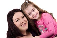 Mutter- und der Tochterliebe Stockfoto