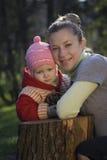 Mutter und die Tochter Lizenzfreie Stockfotos
