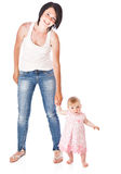Mutter und doughter lizenzfreies stockfoto
