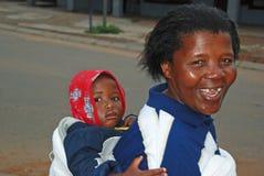 Mutter und Kind Stockfotografie