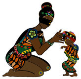 Mutter und Kind Stockfoto
