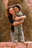 Mutter und Kind Lizenzfreies Stockbild
