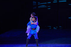 """Mutter Und Kind-Dance drama """"The Dream of Maritime Silk Road"""". Dance drama """"The Dream of Maritime Silk Road"""" centers on the plot of two Royalty Free Stock Photos"""