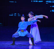 """Mutter Und Kind-Dance drama """"The Dream of Maritime Silk Road"""". Dance drama """"The Dream of Maritime Silk Road"""" centers on the plot of two Stock Photos"""