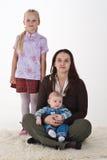 Mutter und Kinder Stockbild