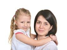 Mutter und kleines Mädchen Stockfotos