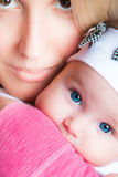 Mutter und Schätzchen Stockfoto