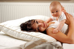 Mutter und Schätzchen #19 Stockfotografie