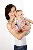 Mutter und Schätzchen Stockbild