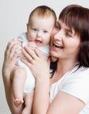 Mutter und Schätzchen Lizenzfreie Stockbilder