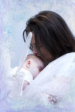 Mutter und Schätzchen Lizenzfreie Stockfotografie