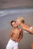 Mutter und Sohn Stockbilder