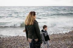 Mutter und Sohn Lizenzfreies Stockfoto