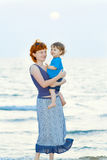 Mutter und Sohn Lizenzfreie Stockfotografie