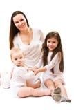 Mutter und Töchter Stockfoto