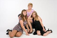 Mutter und Töchter Lizenzfreie Stockfotos