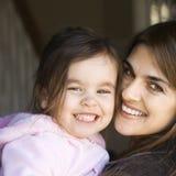 Mutter und Tochter. lizenzfreies stockfoto