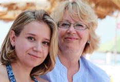 Mutter und Tochter Lizenzfreie Stockfotos