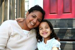 Mutter und Tochter Stockbilder