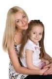 Mutter und Tochter Lizenzfreies Stockfoto