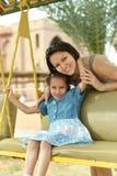 Mutter und Tochter Lizenzfreie Stockfotografie