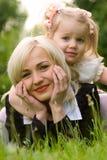 Mutter und Tochter Stockfotos