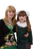 Mutter und Tochter. stockfoto