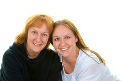 Mutter und Tochter, Familie stockfotografie