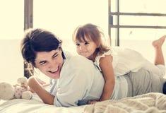 Mutter- und Tochterqualitätszeit Stockbilder